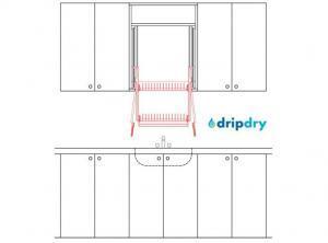 Drain Dish Rack   The DripDry
