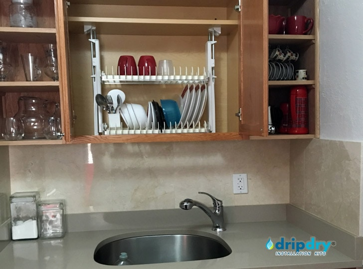 Cabinet Dish Rack Invisible Rack For Dishes European