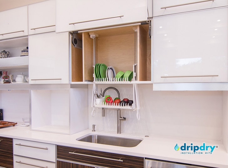 The ... & Build In a Cabinet Dish Rack - DripDry Buy Online - As seen in Europe