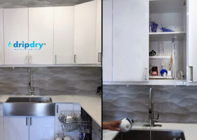 Large DripDrip Classic | hidden dish drying rack
