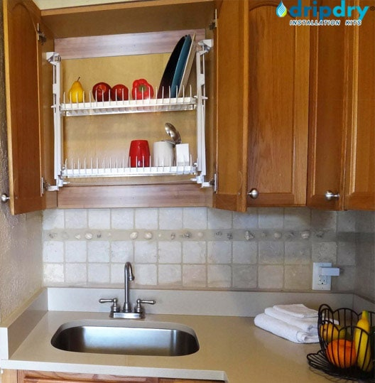 Cabinet Dish Rack for Small Kitchen